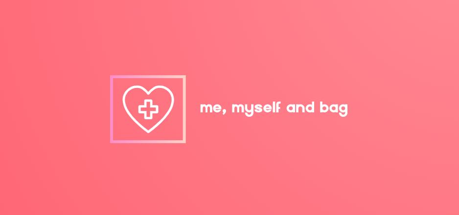 me, myself and bag